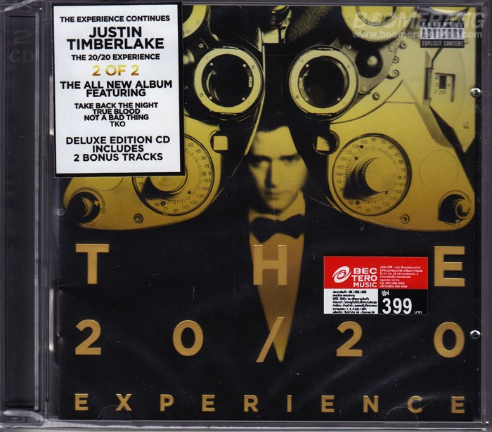 Futuresex Lovesounds Deluxe Version Justin Timberlake: CD Hot This Week! Justin Timberlake: The 20/20 Experience