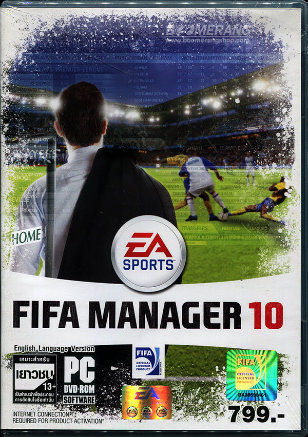 FIFA MANAGER 10 (GAME-PC) BoomerangShop.com - Thailand Online Blu-Ray, DVD,