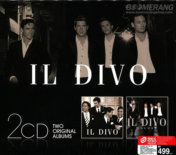 Click for larger image and over views for Il divo cd
