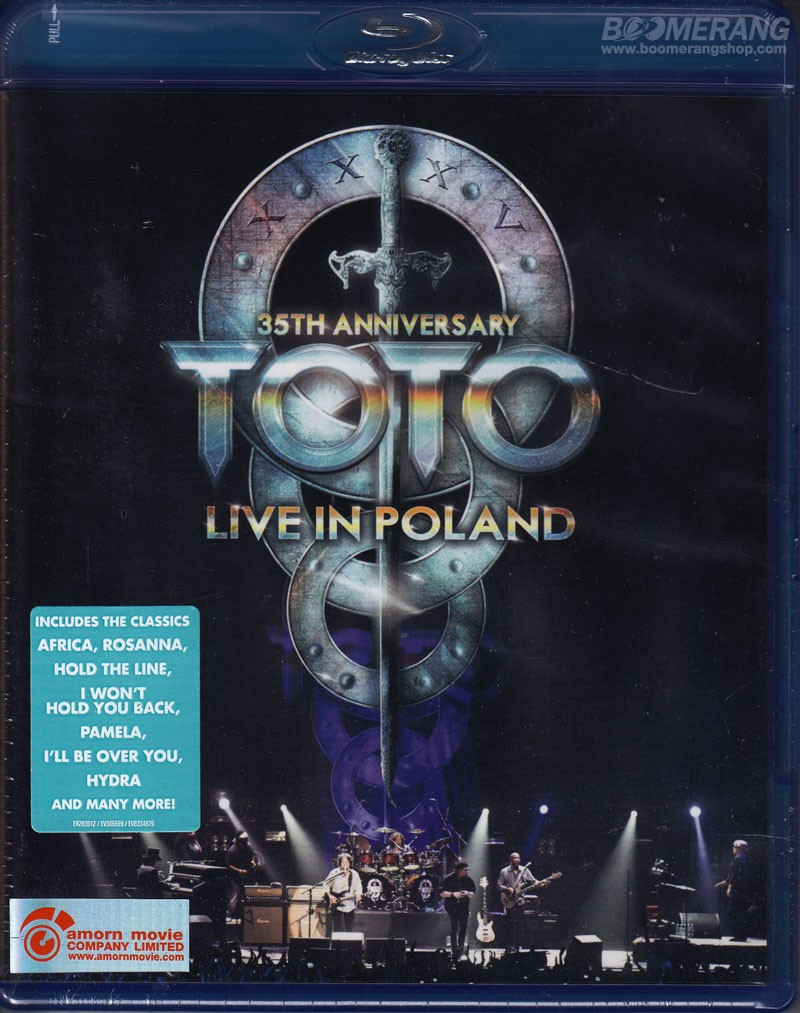 Toto:35th Anniversary Tour Live from Poland (Blu-ray ...