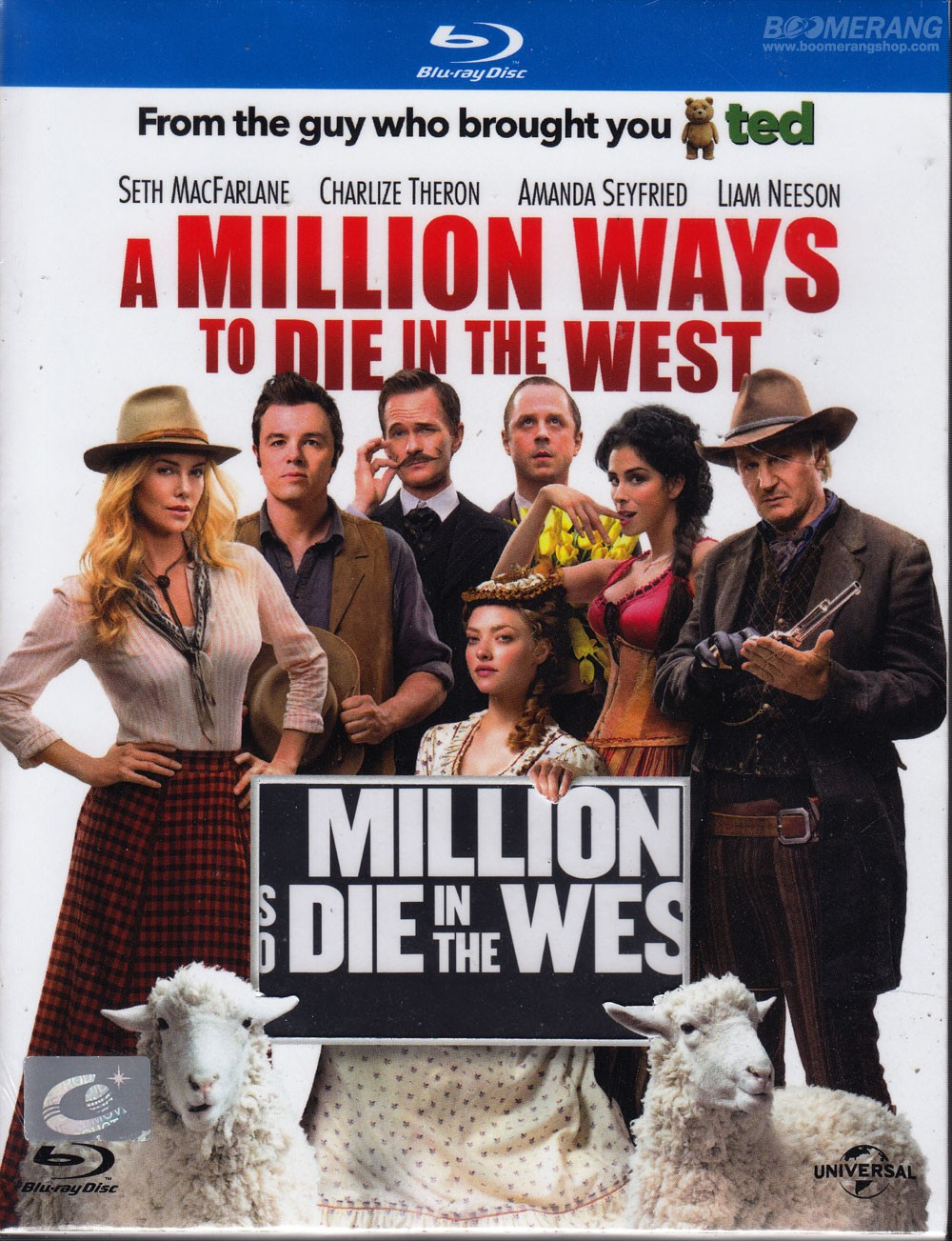A Million Ways To Die In The West Dvd Cover - ma