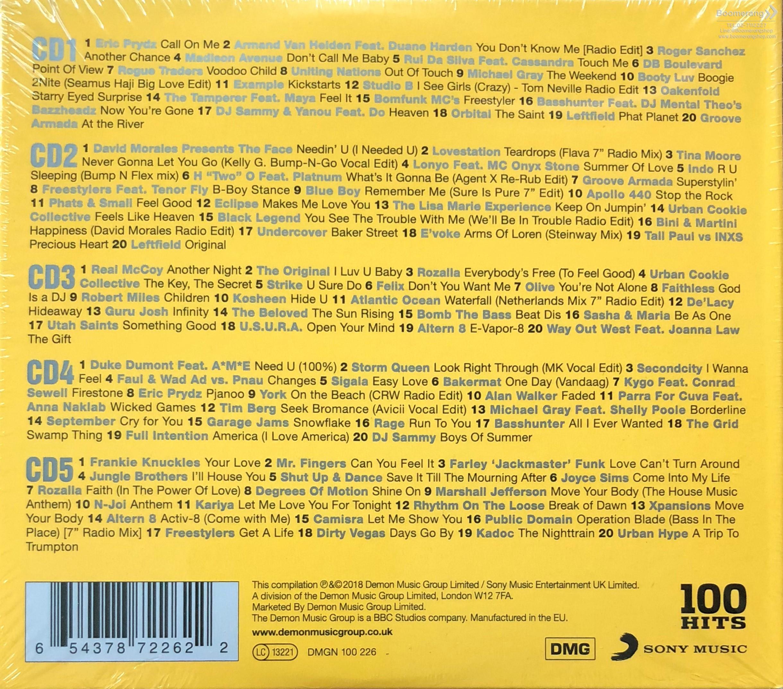 100 Hits: Best Dance Album / Various [Import]   BoomerangShop com