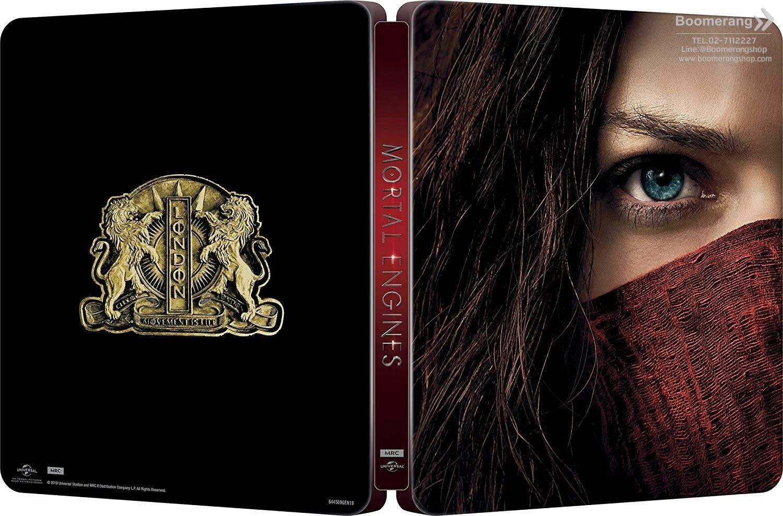 Mortal Engines (4K Ultra HD + Blu-ray + Steelbook) (Import