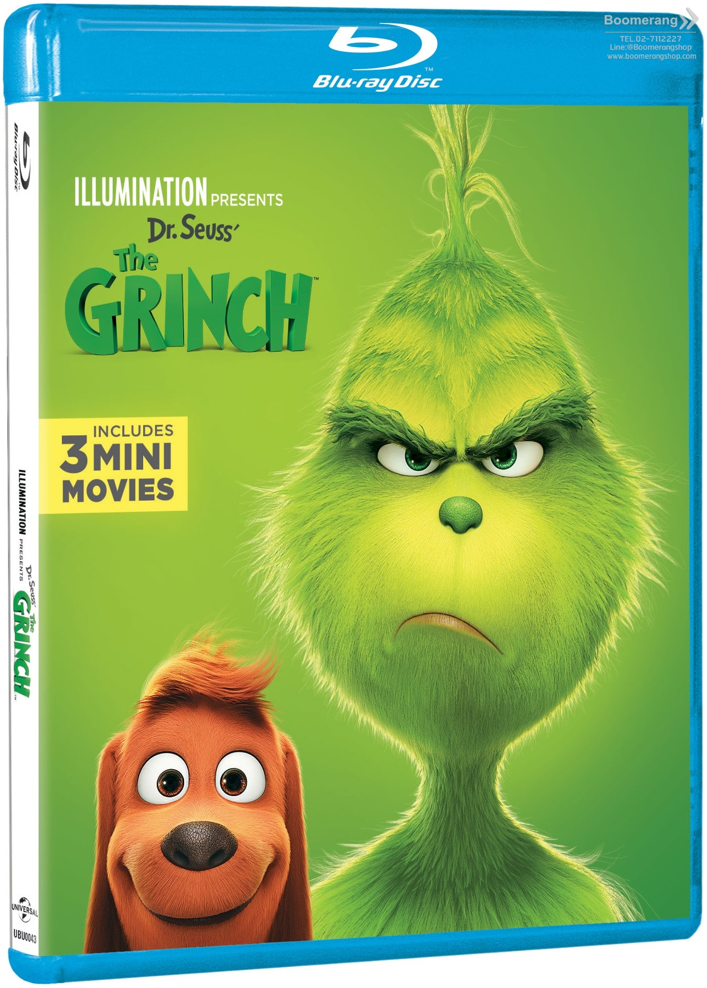 By Dr Seuss Book How The Grinch Stole Christmas! New