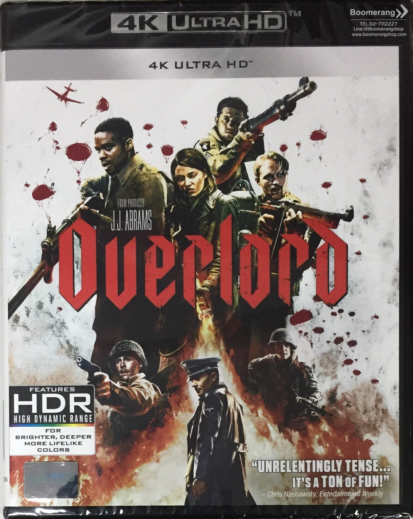 Overlord/ปฏิบัติการโอเวอร์ลอร์ด (4K Ultra HD) (4K มีซับไทย